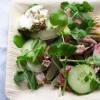 Чим заправити салат з шинкою і огірками? Різні варіанти холодних закусок зі свинячої ковбаси