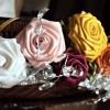 Квіти зі стрічок для торжества і на кожен день