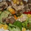 Готуємо салат з грибами смаженими