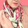 Як красиво зав`язувати шарф палантин?