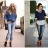Як носити сорочку з джинсами