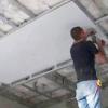 Як одному зробити стелю з гіпсокартону?