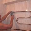 Як підключити полотенцесушитель?