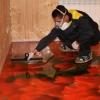 Як зробити наливна підлога?