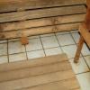 Як зробити в лазні підлогу правильно?