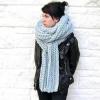 Як зав`язати довгий шарф?