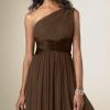 Плаття на одне плече - вибір особливих жінок