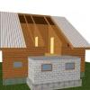 Прибудова до будинку з піноблоків своїми руками (фото)