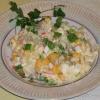 Салат з кальмарів з яйцем і кукурудзою: рецепт