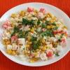 Салат із крабових паличок - просте і ситне блюдо