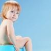 У дитини запор: що робити?